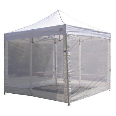 Impactcanopy 10 X10 Pop Up Canopy Tent Mesh Sidewalls