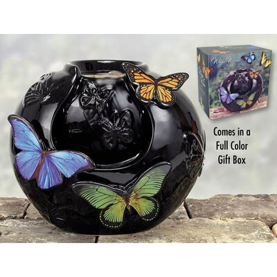 Porcelain Butterfly Fountain by Coyne's Company