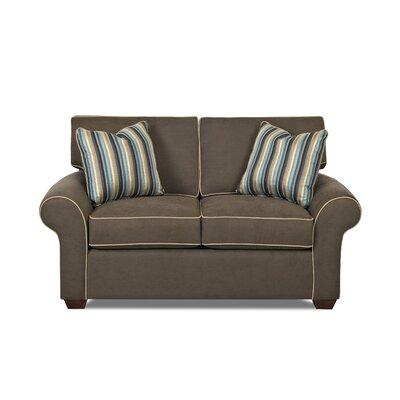 "Klaussner Furniture KLF3612 Milton 66"" Loveseat"