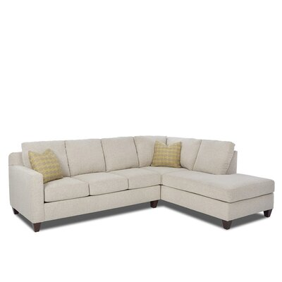 Washington Right Hand Facing Sectional by Klaussner Furniture