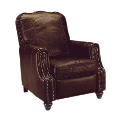Hanson Leather Recliner by Klaussner Furniture
