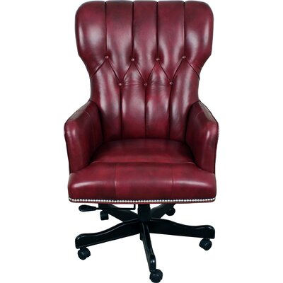 High-Back Executive Leather Chair by Parker House
