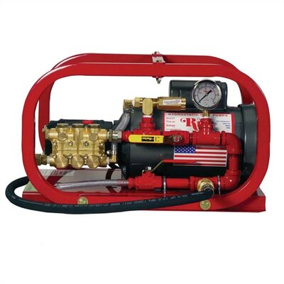 Rice Hydro 1.5 GPM Low Volume High Pressure Electric Hydrostatic Test Pump