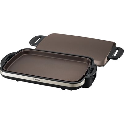 Gourmet Sizzler® Stainless Electric Griddle by Zojirushi