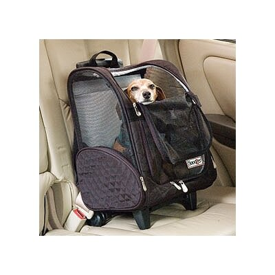 Snoozer Pet Products Wheel Around Travel Pet Carrier