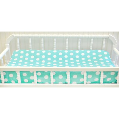 My Baby Sam Pixie Baby Polka Dot Contour Changing Pad Cover CPC66 CPC67
