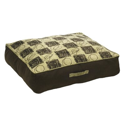 Microvelvet Diam Tahoe Dog Pillow by Bowsers