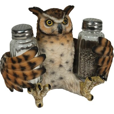 Owl Salt and Pepper Shaker by American Expedition
