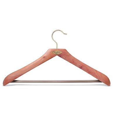 Woodlore Classic Hanger in Natural Cedar Finish