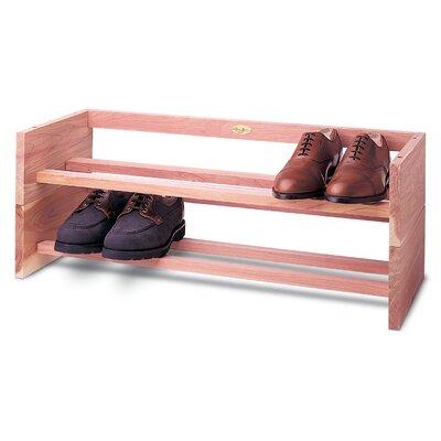 Woodlore Large Single Shoe Rack