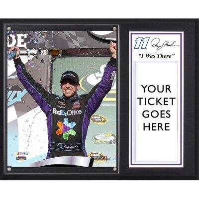 NASCAR Denny Hamlin 2012 Subway Fresh Fit 500 Winner 'I WAS THERE' Memorabilia Plaque by ...