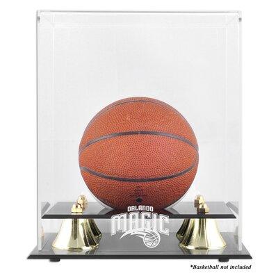 Mounted Memories NBA Golden Classic Logo Mini Basketball Display Case