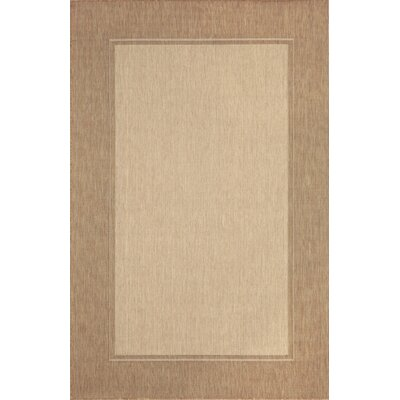Monterey Neutral Border Indoor/Outdoor Rug by Liora Manne