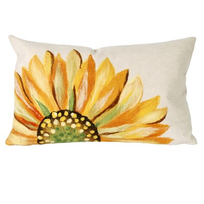 Liora Manne Sunflower Indoor/Outdoor Lumbar Pillow