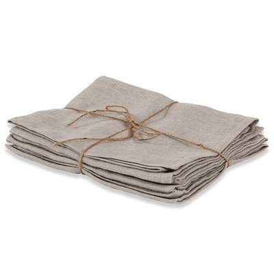 Couleur Nature Laundered Linen Solid Napkin