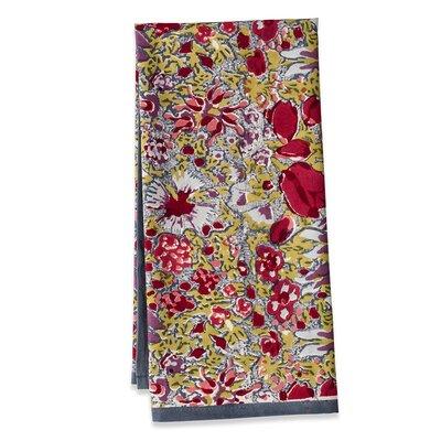 Couleur Nature Jardine Red Grey Tea Towel