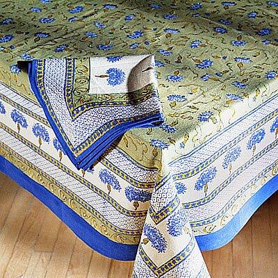 Bleuet Dining Linens Set by Couleur Nature