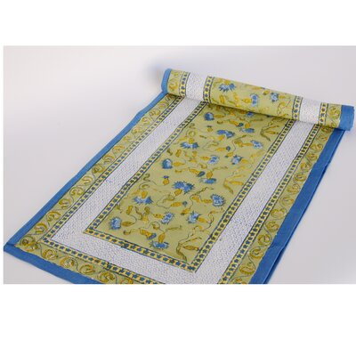 Bleuet Table Runner by Couleur Nature