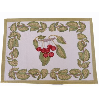 Cherry Dining Linen Set by Couleur Nature