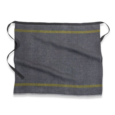 Laundered Linen Stripe Apron by Couleur Nature