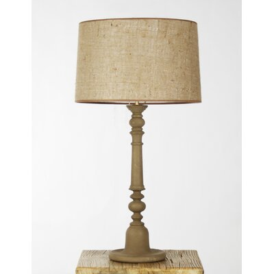 """Zentique Inc. Sutherland 19"""" H Table Lamp with Empire Shade"""