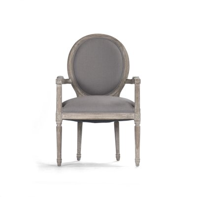 Medallion Arm Chair by Zentique Inc.