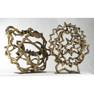 Zentique Inc. Round Vine Sculpture