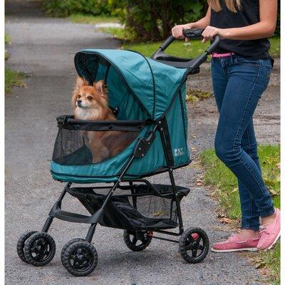 No Zip Happy Trails Standard Pet Stroller by Pet Gear