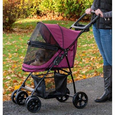 Happy Trails Lite NO-ZIP Pet Stroller by Pet Gear