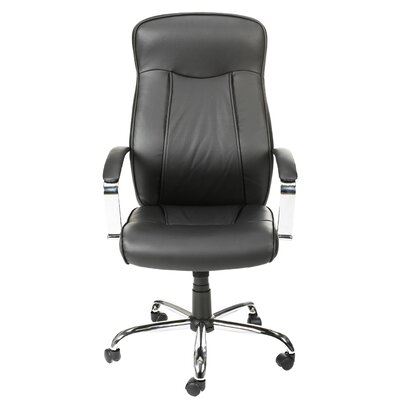 Leather Executive Chair with Arms by Merax