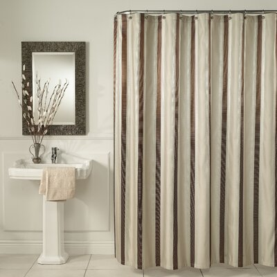 Hudson Stripe Shower Curtain by m.style