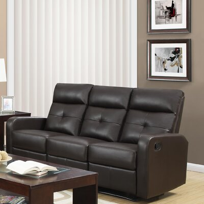 Monarch Specialties Inc. I 85 Reclining Sofa