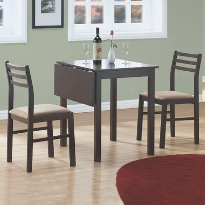 Monarch Specialties Inc. 3 Piece Dining Set I