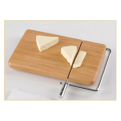 Natural Bamboo Cheese Slicer by Creative Home