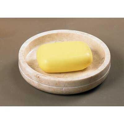 Caramel Marble Soap Dish by Creative Home