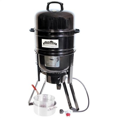 7 in 1 Charcoal / Propane Smoker and Grill by Masterbuilt