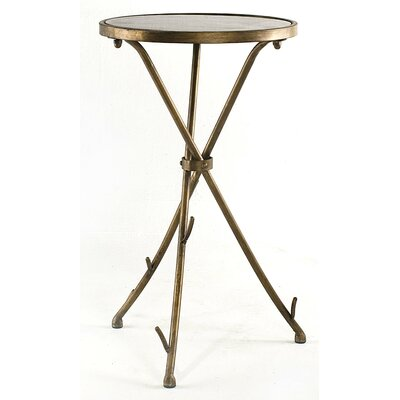 Stick Table with Black Stone Top Surface by InnerSpace Luxury Products