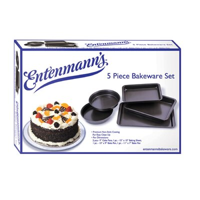 Entenmann's Bakeware Classic 5 Piece Bakeware Set