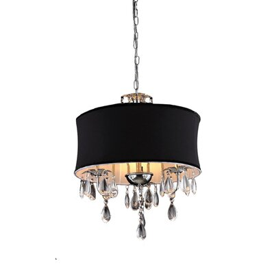 Cassiopeia 3 Light Crystal Chandelier Product Photo