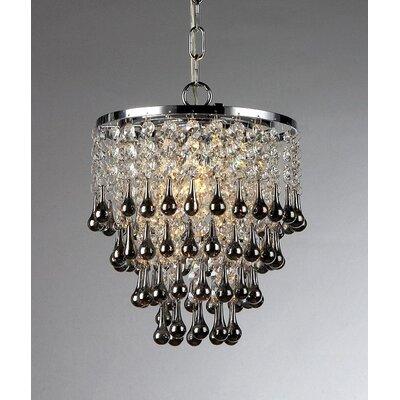 Drape 1 Light Cascade Pendant by Warehouse of Tiffany
