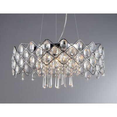 Persephone 10 Light Crystal Chandelier Product Photo