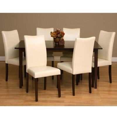Warehouse of tiffany shino 7 piece dining furniture set for Furniture 7 reviews