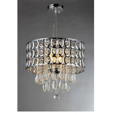 Antoinette 4 Light Crystal Chandelier Product Photo