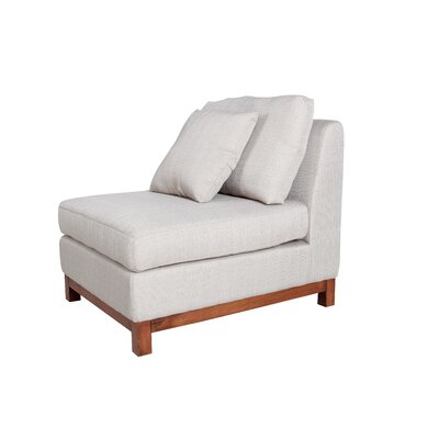 Armless Slipper Chair by A&B Home Group, Inc