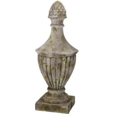 French Chic Garden Artichoke Magnesia Urn by A&B Home Group, Inc