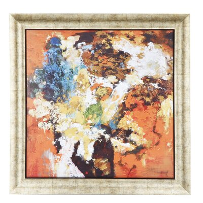 'Impressionist Bouquet' Framed Wall Art by A&B Home Group, Inc