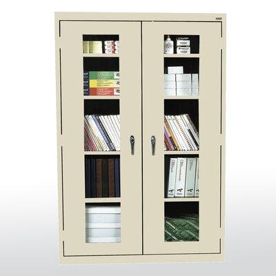 Sandusky Cabinets Clear View 2 Door Storage Cabinet