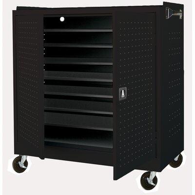 Sandusky Cabinets 24-Compartment Laptop Storage Cart