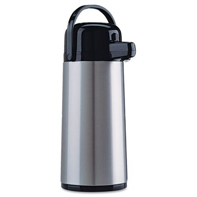 Original Gourmet Food Co. Coffee Pro Direct Brewith Serve Insulated Airpot with Carry Handle