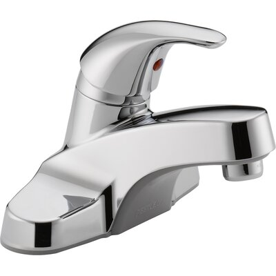 Centerset Bathroom Faucet with Single Handle by Peerless Faucets